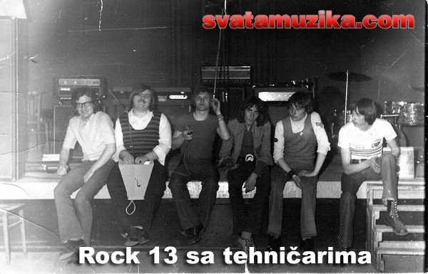 Rock 13 sa tehnicarima (snimak Geza Horvat)