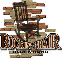Rockin chair blues band logo