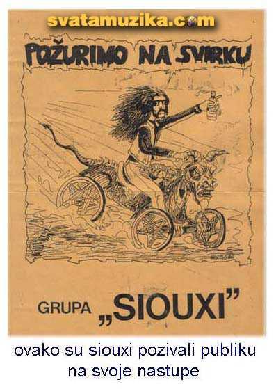 siouxi plakat
