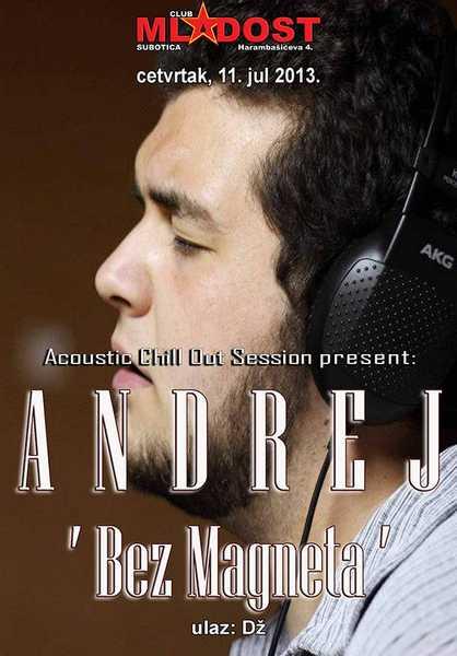Andrej Ademi bez magneta plakat